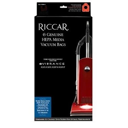 Riccar R10 HEPA bags - 6pk
