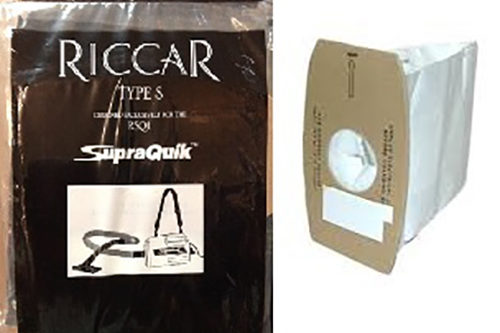Riccar Supra Quick canister bags - 6pk